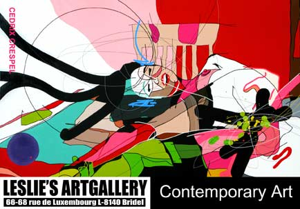 [Invitation solo exhibition Cedrix Crespel # verso]