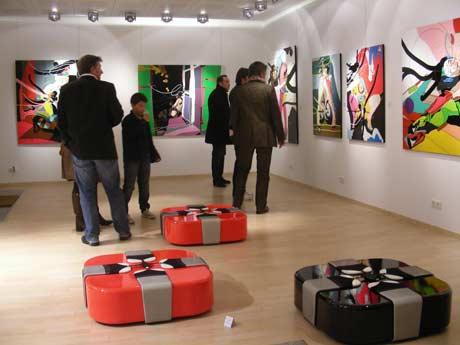 [Opening reception exhibition Cedrix Crespel #]