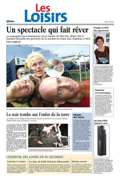 Le Quotidien page 33