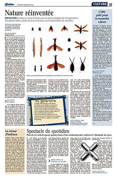 Le Quotidien 16.9.2009 page 37