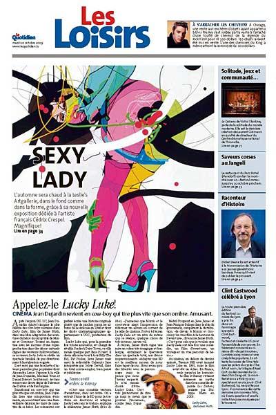 [Le Quotidien 20.10.2009 page 33 #]